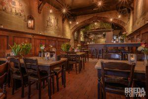 Binnen in het restaurant Het Voske